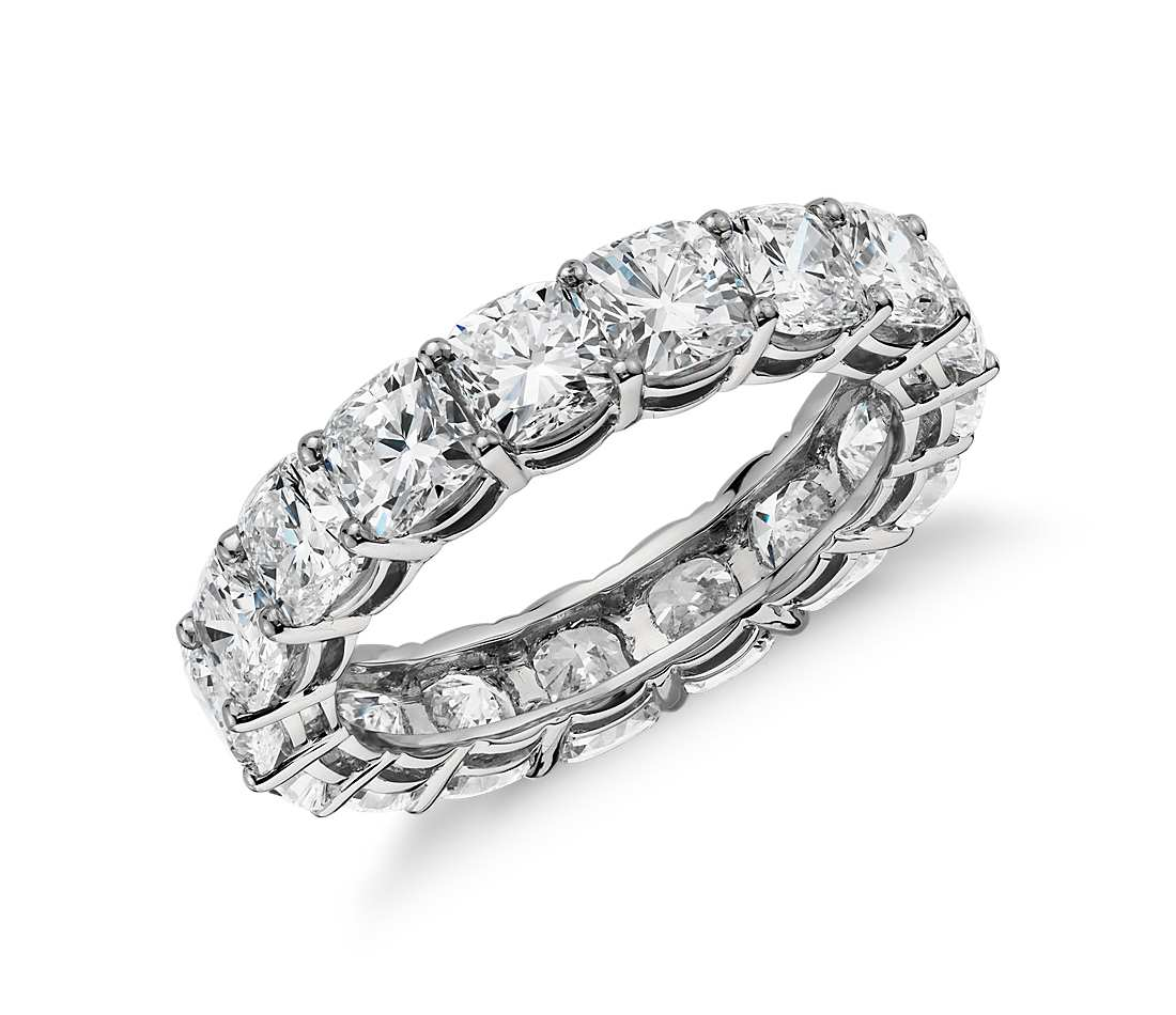 tw diamonds p total betteridge setting platinum mounted edge ring prong shared eternity u bands carat with in diamond band weighing brilliant ct carats approx sculpted sixteen a style round