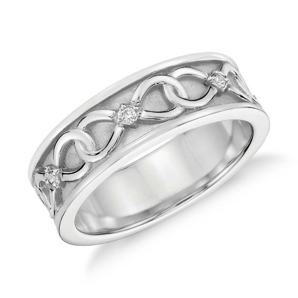 Infinity Wedding Band.Colin Cowie Diamond Infinity Wedding Ring